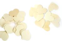 Coeur en bois naturel - Taille au choix - Motifs brut - 10doigts.fr