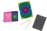 Coffret cartes à gratter - Mandala - Cartes à gratter - 10doigts.fr