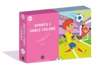 Coffret Sport 1 - Activité Sables colorés - Sable coloré - 10doigts.fr