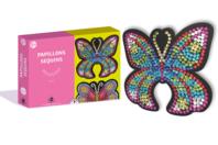 Coffret Sequin - 2 Papillons - Formes à décorer - 10doigts.fr