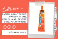 Colle gel Cléopâtre - Sans solvants - Colles scolaires - 10doigts.fr