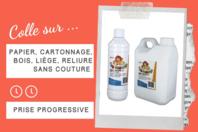Brut de Colle - Colle forte qualité professionnelle - Colles scolaires - 10doigts.fr