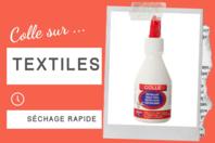 Colle pour textile - 100 ml - Colles spécifiques - 10doigts.fr
