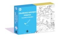 Coffret Pirates - Coloriage Magique Effaçable - Support pré-dessiné - 10doigts.fr