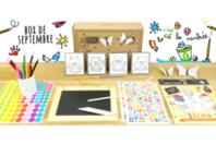 Box créative Créabul - Septembre 2019 - Box créatives - 10doigts.fr