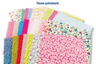 Coupons de tissu imprimé - Set de 30 - Coton, lin - 10doigts.fr