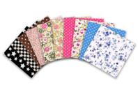 Coupons de tissu en coton (43 x 53 cm) - Imprimés au choix - Coupons de tissus - 10doigts.fr