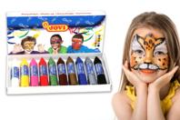 Crayons de maquillage - Set de 10 - Maquillage - 10doigts.fr
