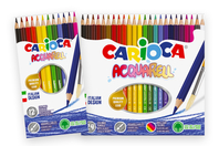Crayons de couleur aquarellables Carioca - Crayons aquarelles - 10doigts.fr