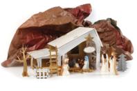 Créche de Noël à fabriquer - Supports de fêtes en carton - 10doigts.fr