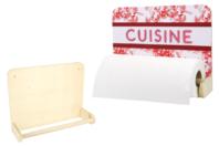 Dérouleur essui-tout en bois  - Cuisine et vaisselle - 10doigts.fr