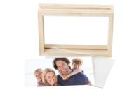 Cadre en bois avec double vitre - Cadres photos - 10doigts.fr