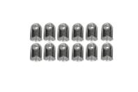 Embouts tubulaires pour fils ou cordons - Lot de 12 - Cache-noeud - 10doigts.fr