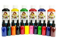 Encre de chine colorée - Encres liquides - 10doigts.fr