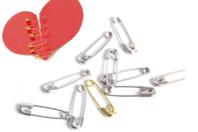 Épingles de sûreté - or, argent, ou multicolores - Pin's et broches - 10doigts.fr