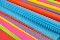 Papier de soie à la couleur - 50 x 66 cm - Papiers de soie - 10doigts.fr