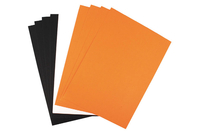 Feuilles de papier couleurs assorties - Set de 10 - Halloween - 10doigts.fr