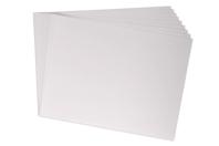 Papier dessin blanc - 50 x 65 cm - Support blanc - 10doigts.fr
