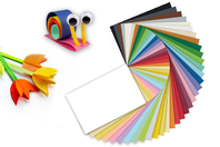 Papiers légers 21 x 29.7 cm - Packs multicolores - Papiers Format A4 - 10doigts.fr
