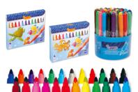 Feutres grosses pointes JOVI - Coloriages - 10doigts.fr