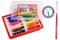 Feutres de coloriage STABILO power - Schoolpack 144 feutres - Feutres Larges - 10doigts.fr
