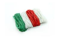 Ficelles cordelettes en coton métallisé - 4 couleurs - Raphia et ficelles - 10doigts.fr