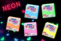 Fimo Effect à l'unité - Couleurs néon au choix - Fimo Effect - 10doigts.fr