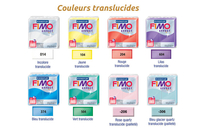FIMO EFFECT : Couleurs translucides - Fimo Effect - 10doigts.fr