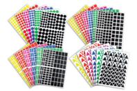 Gommettes géométriques - Formes au choix - Toutes les gommettes géométriques - 10doigts.fr