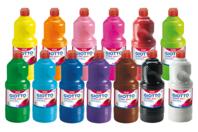 Gouache GIOTTO 1 Litre haute qualité  - 13 couleurs au choix - Peinture gouache liquide - 10doigts.fr