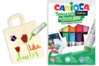 Sticks de gouache solide pour textiles - 10 couleurs - Feutres Marqueurs Textiles - 10doigts.fr