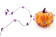 Guirlande lumineuse chauve-souris - 20 LEDS - Halloween - 10doigts.fr