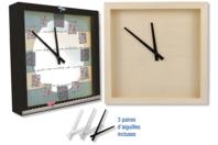 Horloge carrée à poser - Horloges - 10doigts.fr