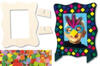 Kit 6 cadres mosaïques - Kits Supports et décorations - 10doigts.fr