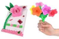 Fleurs en caoutchouc mousse - Kit pour 6 fleurs - Objets pratiques du quotidien - 10doigts.fr