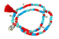 Kit pour fabriquer 3 bracelets indiens - Bijoux, bracelets, colliers - 10doigts.fr