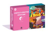 Coffret cartes à gratter - Aventures - Cartes à gratter - 10doigts.fr