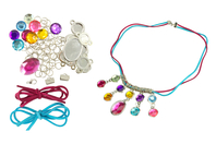 """Kit collier """"pierres précieuses"""" - Bijoux, bracelets, colliers - 10doigts.fr"""