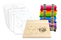 String Art - kit créatif pour 8 tableaux assortis - String Art - 10doigts.fr