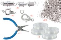 Kit fabrication de bijoux - Fermoirs - 10doigts.fr