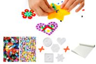 Perles à repasser - Kit complet pour activité - Kits créatifs prêt à l'emploi - 10doigts.fr