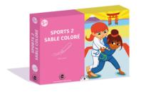 Coffret Sport 2 - Activité Sables colorés - Sable coloré - 10doigts.fr