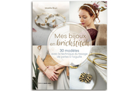 Livre : Mes bijoux en brickstitch - Livres Bijoux - 10doigts.fr