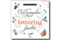 Livre : Calligraphie et lettering faciles - Nouveautés - 10doigts.fr