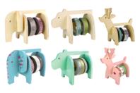 Dévidoirs animaux - Set de 3 - Tape - 10doigts.fr
