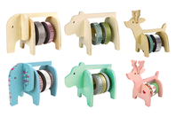 Dévidoirs animaux - Set de 3 - Masking tape (Washi tape) - 10doigts.fr