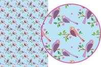 Magic Paper auto-adhésif Oiseaux - Magic Paper - 10doigts.fr