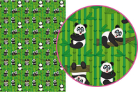 Magic Paper auto-adhésif Pandas - Magic Paper - 10doigts.fr