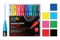 Marqueurs POSCA - couleurs vives - Marqueurs Posca - 10doigts.fr