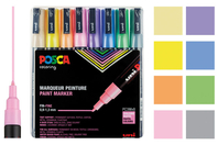 Marqueurs POSCA - Couleurs pastels - Marqueurs Posca - 10doigts.fr